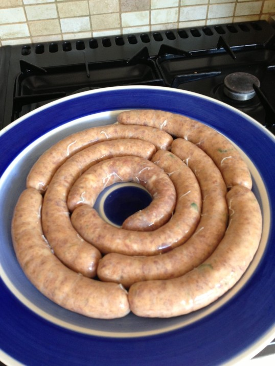 chorizo links